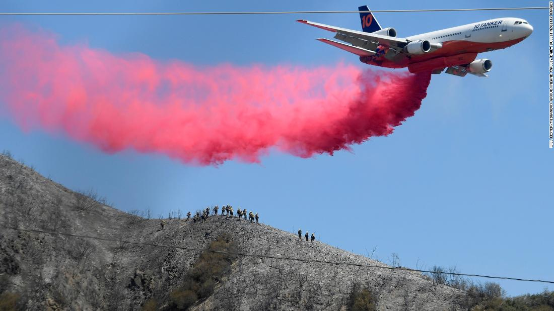 Caldor Fire: More than 34,000 people are under evacuation orders in California as state faces dangerous weather conditions for fire activity