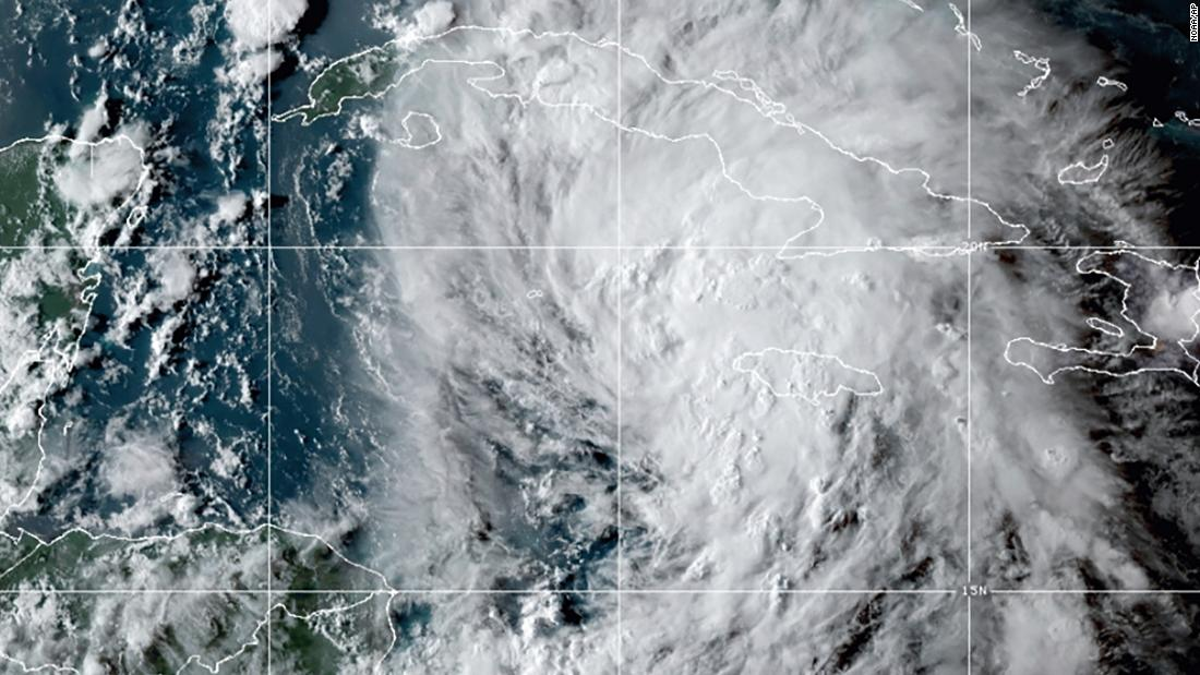 Tropical Storm Ida could bring up to a foot of rain and hurricane force winds to the Gulf Coast
